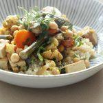 ניגון של הודו / קדרה של ירקות וטופו